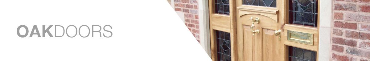 Sussex Oak Front Doors Header and text
