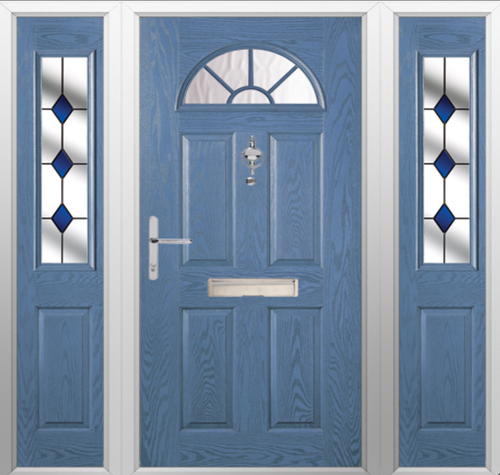door designed door